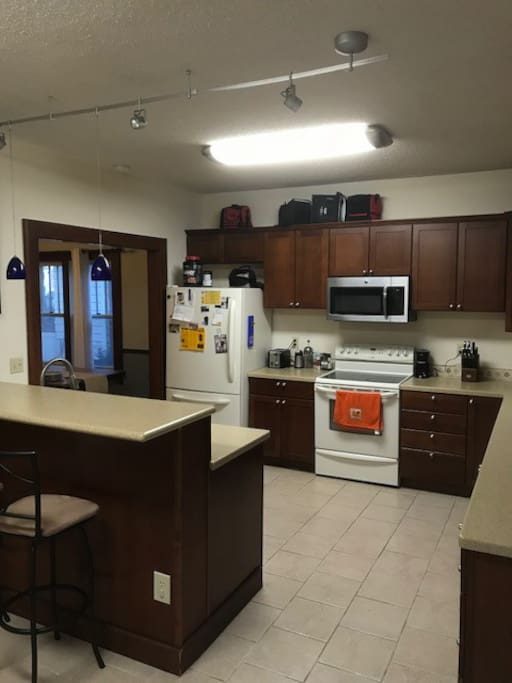 Large eat in kitchen