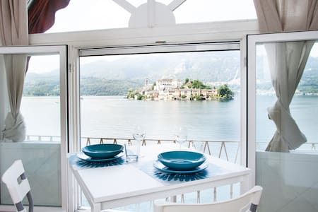 GLI ARCHI. AMAZING LAKE VIEW! - Orta San Giulio - Apartment