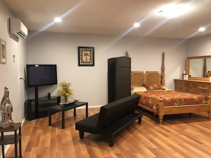 Private studio apartment