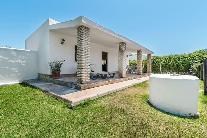 Acogedora casita con piscina en El Palmar - El Olivo