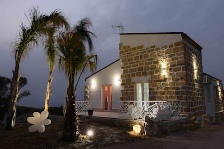 Appartamento 4 posti in villa a 100 m dal mare - Trappeto