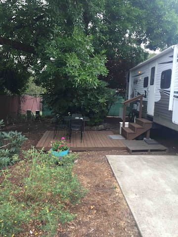 2012 Travel Trailer in Private Setting