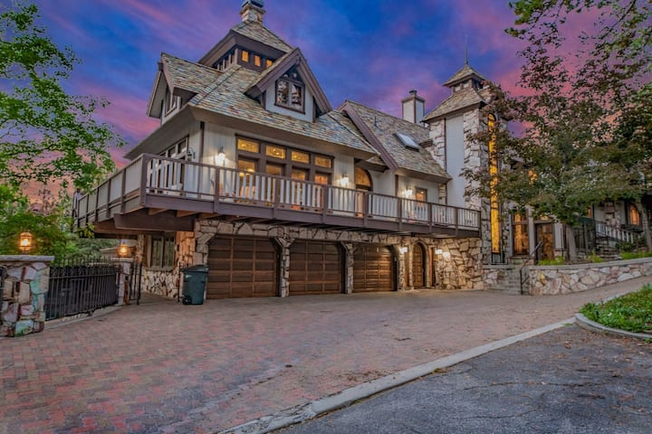 Castle in the Woods Edgewood Mansion