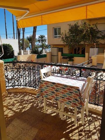 Casa primera línea de playa