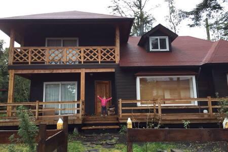 Casa Cascadas, Lago Llanquihue, puerto octay,chile