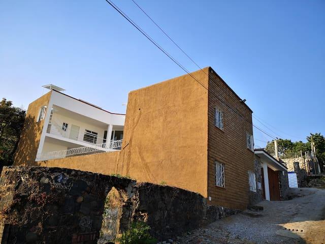 Casa Pichona, con hermosas vistas en Tepoztlán