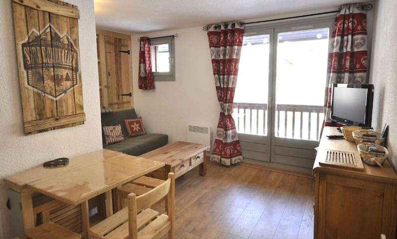 STUDIO AT THE FOOT OF SKI TRAILS, SERRRE CHEVALIER