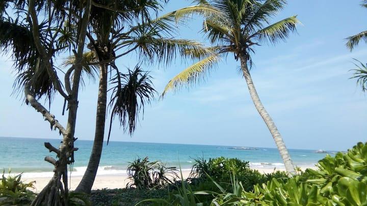Beachfront hideout in Balapitiya