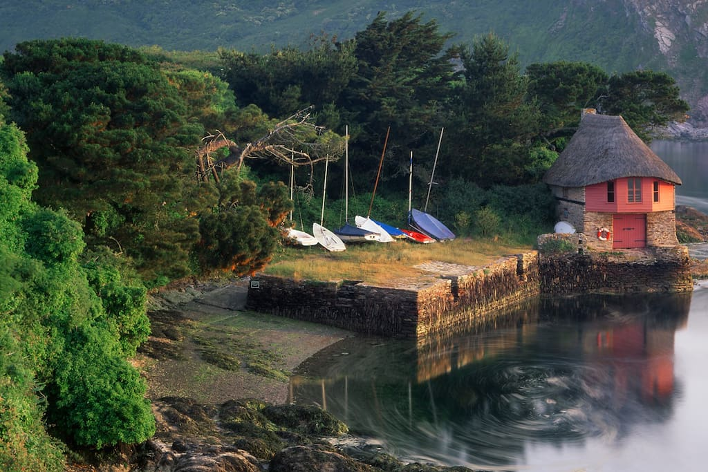 Bantham Boathouse, just a few miles from the cottage