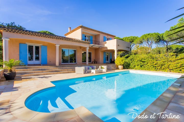 Admirable 5 bedroom house with pool and AC - Dodo et Tartine