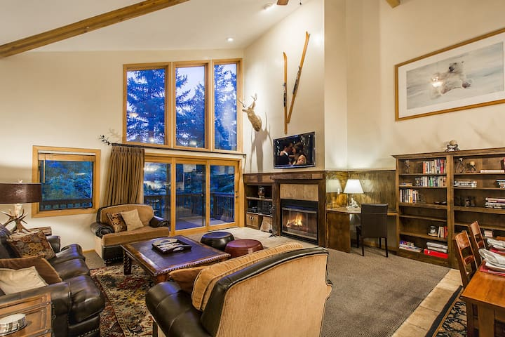 Scenic 3 Bed 3 Bath Deer Valley Aspen Wood Town Home - By PADZU