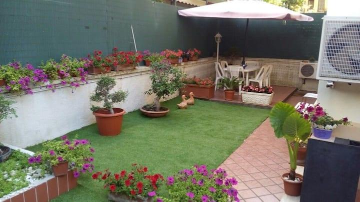 Appartamento con giardino privato Villa Pamphili