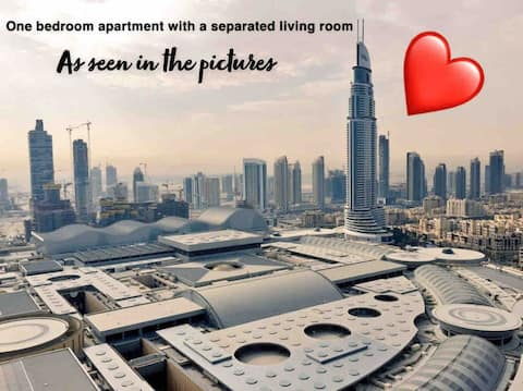 One Bedroom Apartment at The 5* Address Dubai Mall
