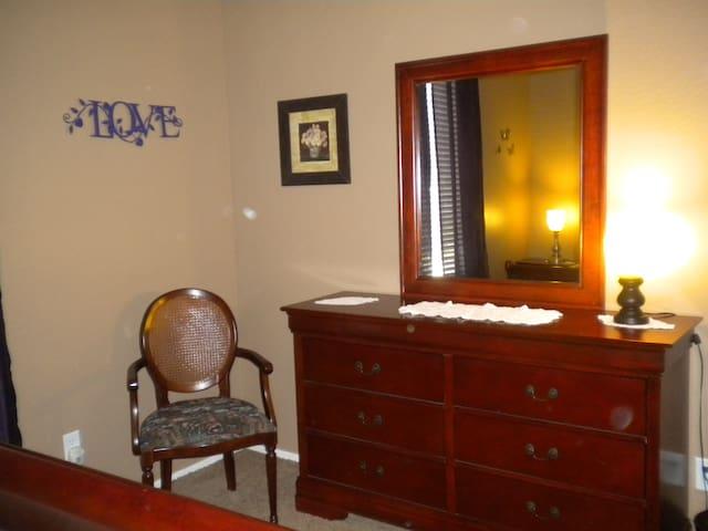 Dresser 1st bedroom