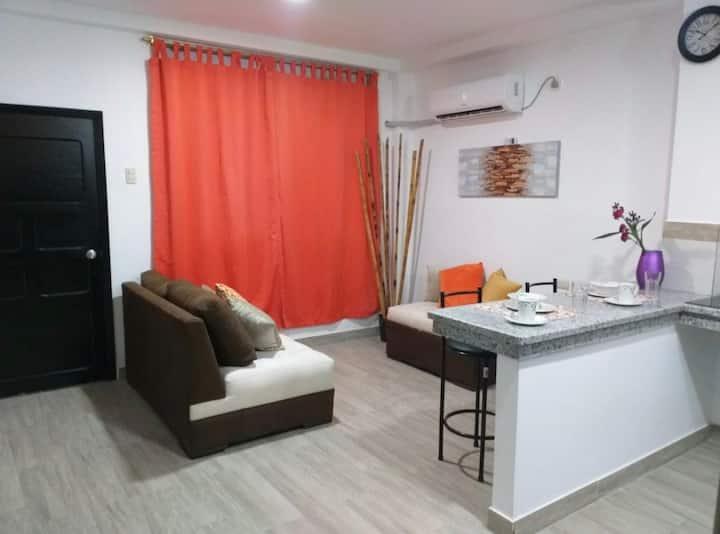 Moderno departamento cerca de Playa Murcielago