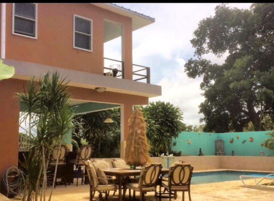 Live island life at Villa Vega Azul