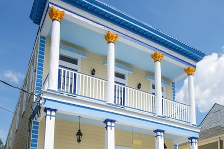 KajunKastle FAMILY REUNIONS WELCOME!! Up to 30!! - New Orleans - Huis