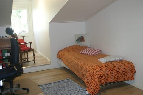 Liten lägenhet för övernattning