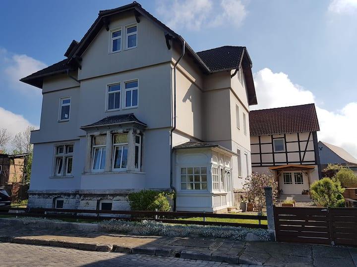 Ferienwohnung in historischer Villa im Harzvorland