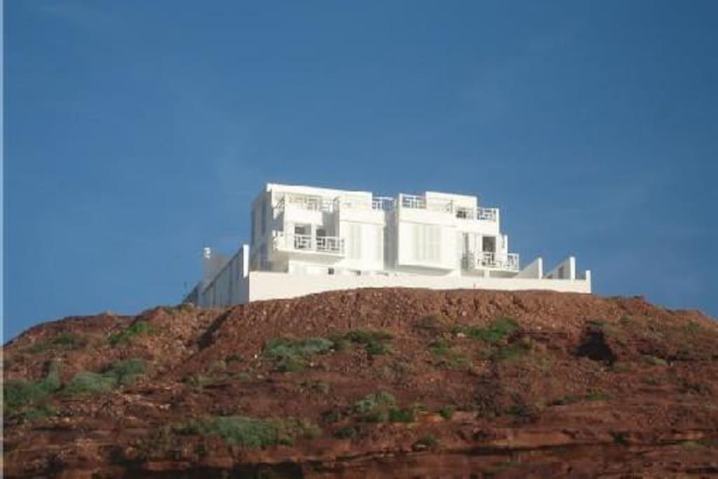 Villa 'seahouse' from the beach