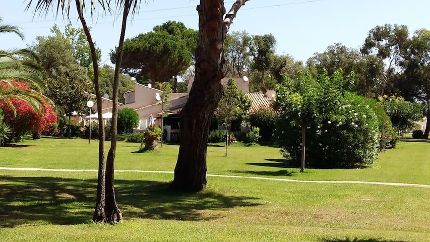 Mini villa proche plage et Port de plaisance - Santa-Maria-Poggio - Hus