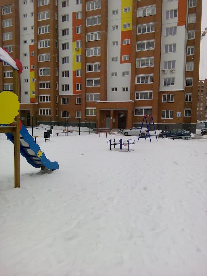 Новая квартира в Бердске
