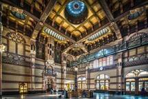 At 20 km from Noorbroek you'll find the city Groningen. The great train central station is a real piece of art.