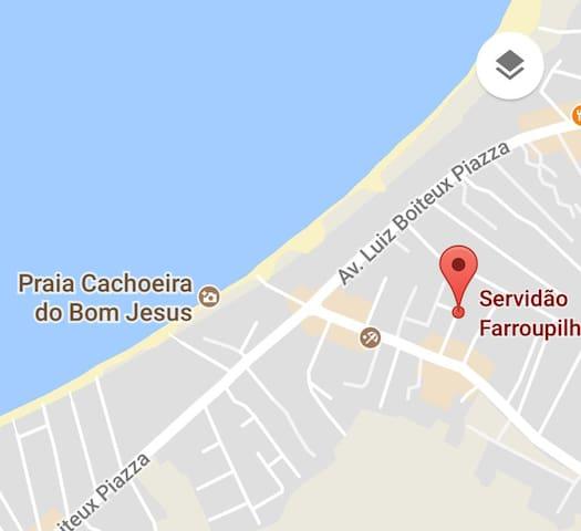 Suíte D hóspedes em Casa TOP na praia da Cachoeira