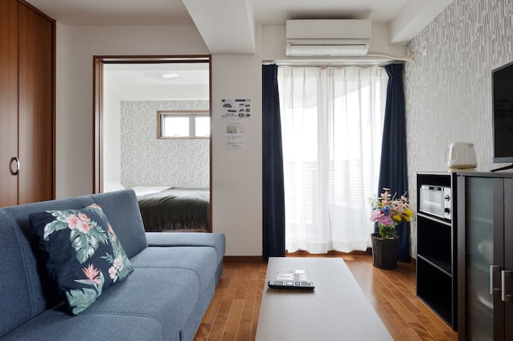 A0803/난바15분/한집 대절/화장실과 셔워 세파레이트/조요한 주택지/wifi/501