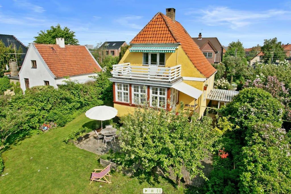 Very private garden