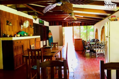 Come stay at The Wave! Shared room - Playa Guiones - House