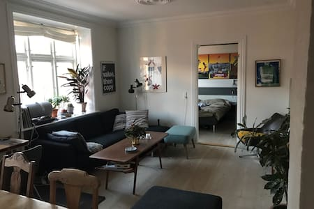 Newly renovated apartment in a quiet neighboorhood - Frederiksberg - Apartment