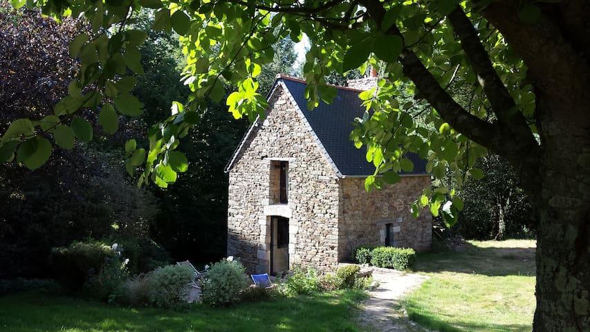 Charmante petite maison pour 2 personnes - Saint-Samson-sur-Rance - Naturstuga
