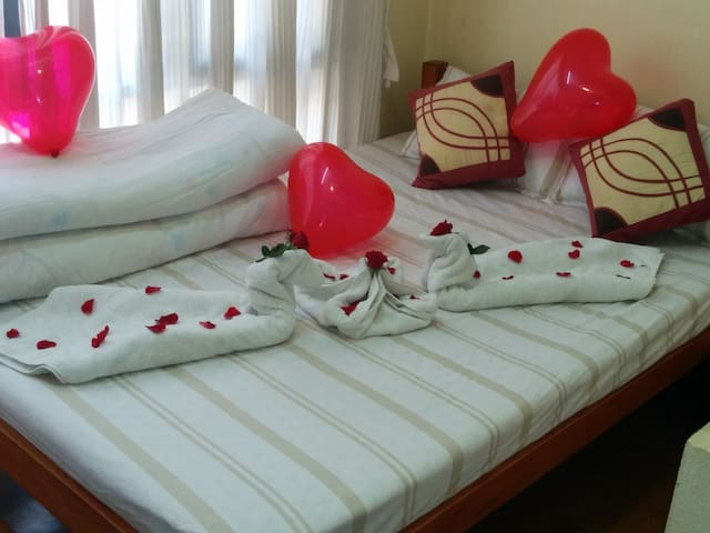 twins bed (looniva guest house)