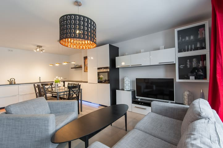 Family-friendly, modern and central apartment. - München - Apartment