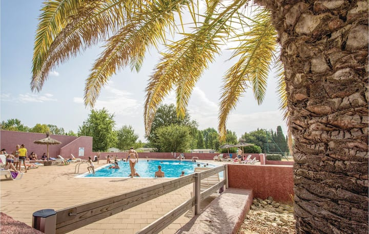 Holiday apartment with 2 bedrooms on 27m² in Argeles sur Mer