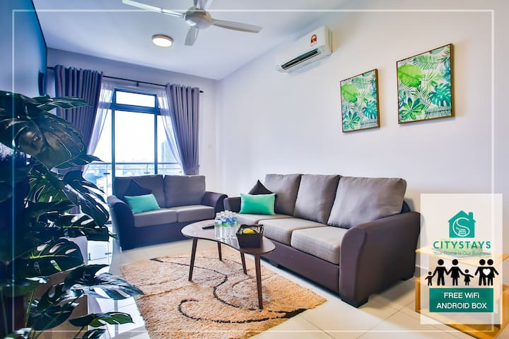 Modern Living- Mid Valley KL-6Pax