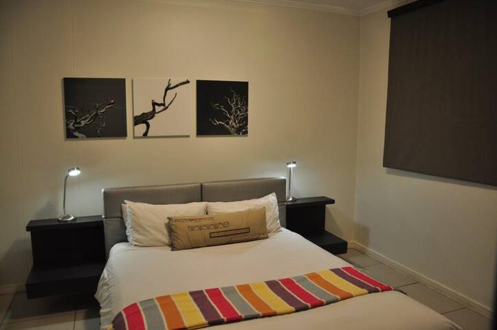 Luxury room at the Nicol Hotel
