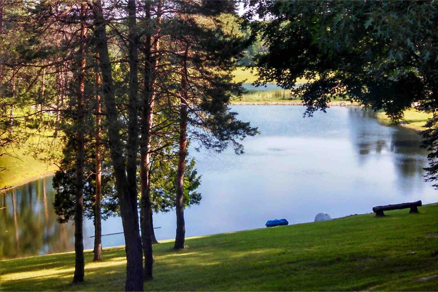 OakHill has two small lakes equaling 3-4 acres of surface water for your enjoyment!
