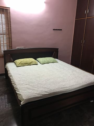 Private large bedroom in first floor with terrace