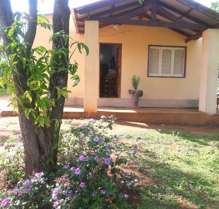 Casa Tranquila en Paraguay.
