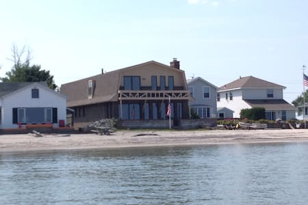 Brick Beach House on Lake Ontario - Rochester - Casa