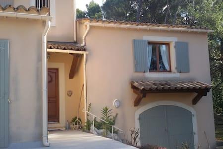 Studio 30 m2 dans villa provençale - Connaux - Apartament