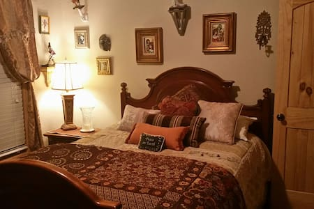 Charming room in luxury cabin - Boerne - Cabin