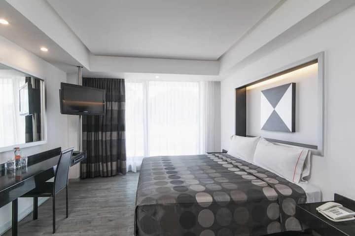 Habitación confortable en la Ciudad de México