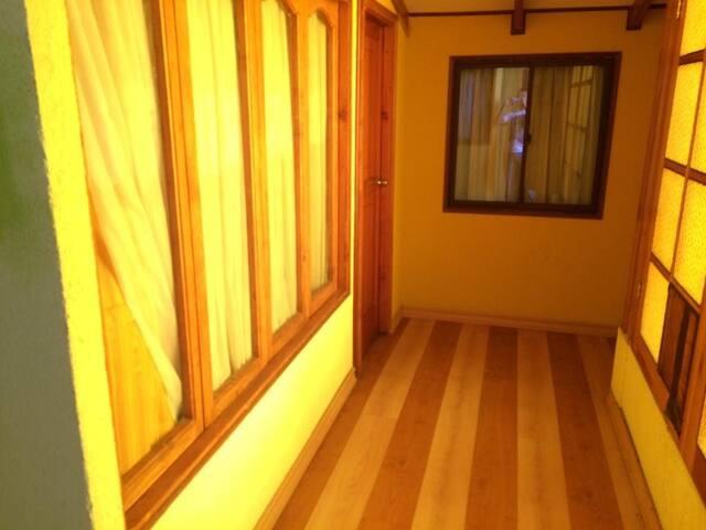 Habitación cómoda y funcional