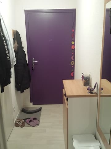 Studio proche de Lyon - Villeurbanne - Apto. en complejo residencial