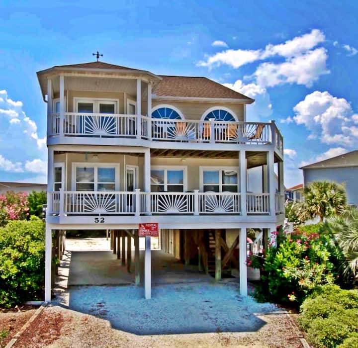 🖤 of Ocean Isle - Wrap around Balcony with views