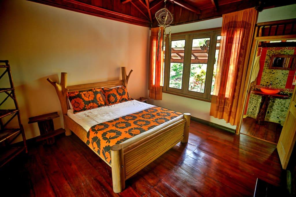 Guayacan Room - Cabaña Aluna