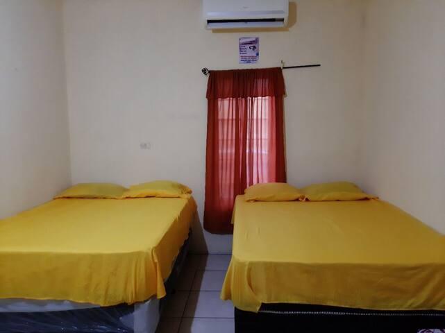 Habitación principal con AC